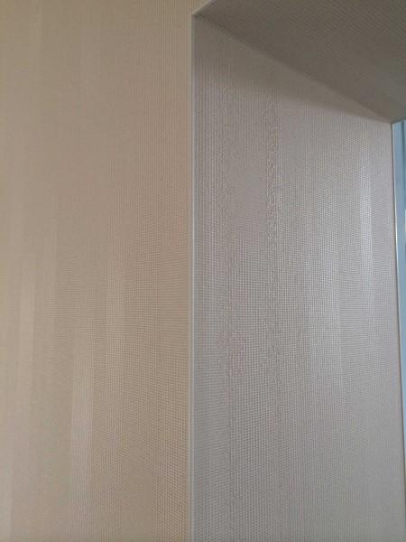 Tapegeklebt mit Eckschutzkannten