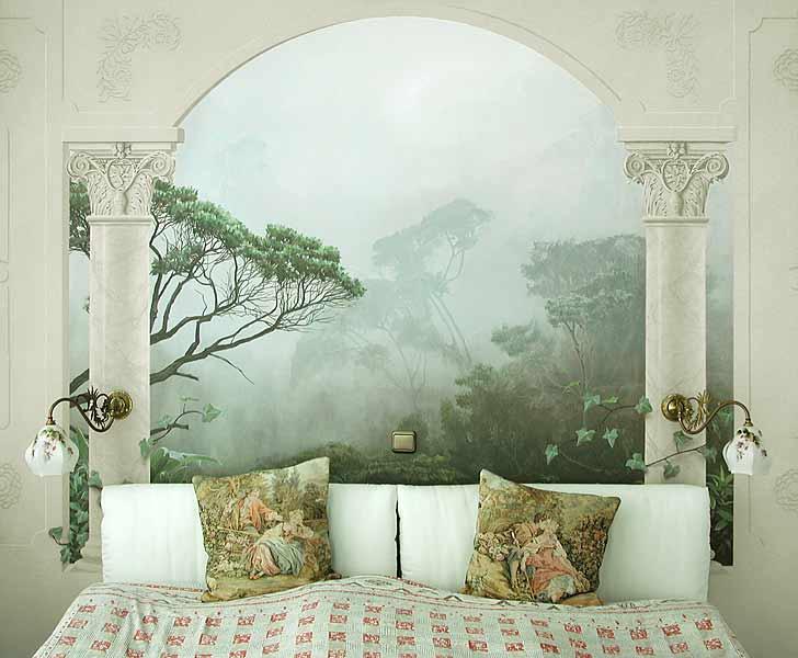 Malerbetrieb joisten habbelrath hilden illusionsmalerei - Stilvolle dekorationsideen schlafzimmer ...
